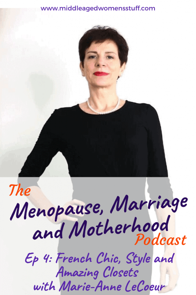Menopause, Marriage and Motherhood