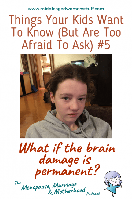 WHEN YOUR CHILD SUFFERS PERMANENT BRAIN DAMAGE