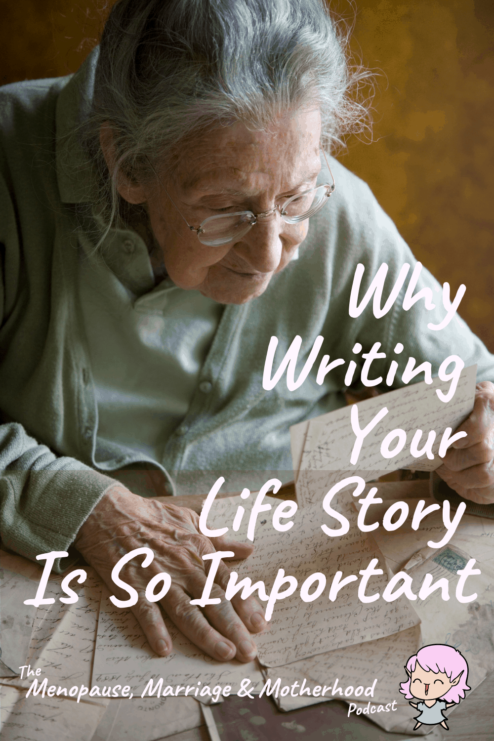 Righting Writing with Jo podcast pin #2
